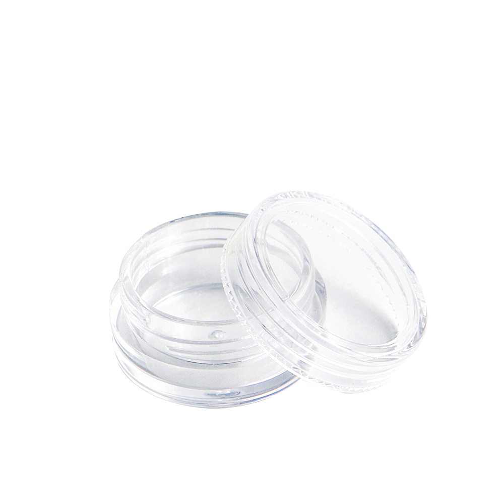 5ml Clear Polystyrene Screw Top Concentrate Container