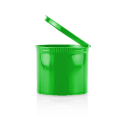 Opaque Green 90 Dram Pop Top,