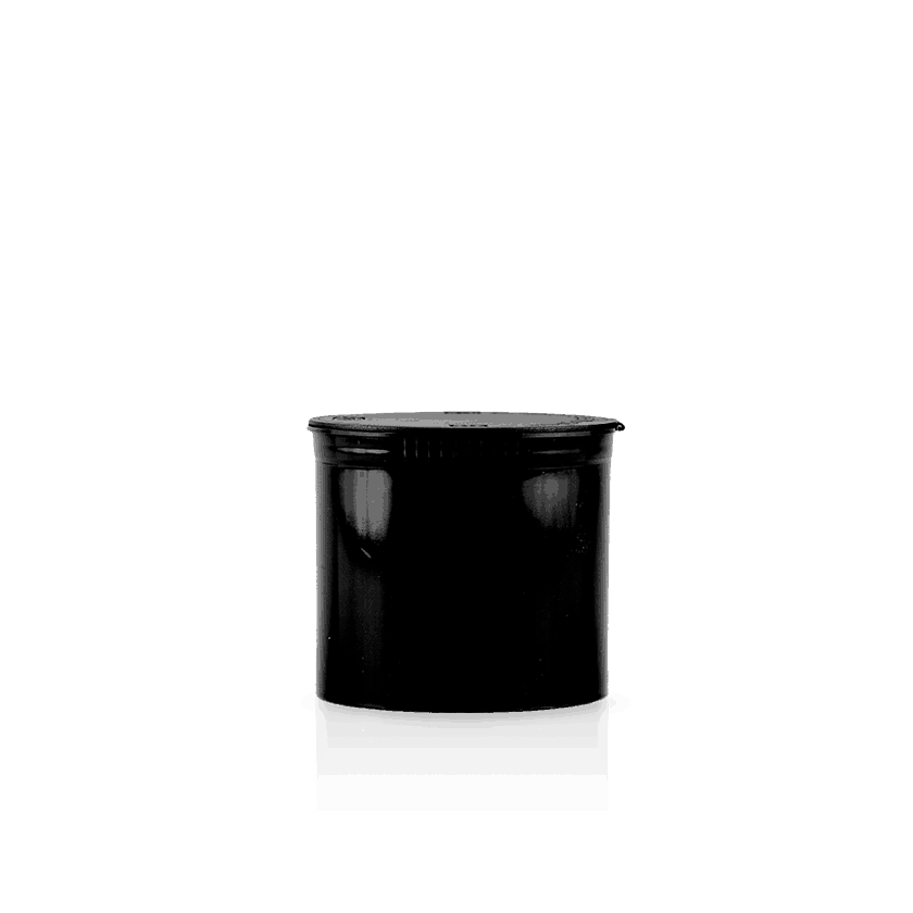 Pop Top 90 Dram Container Black