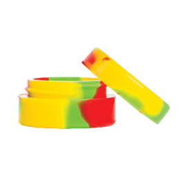 7ml silicone rasta, concentrate container