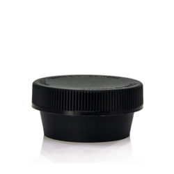 50ml Black Wide Mouth Jars