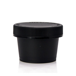 100ml Black Wide Mouth Jars