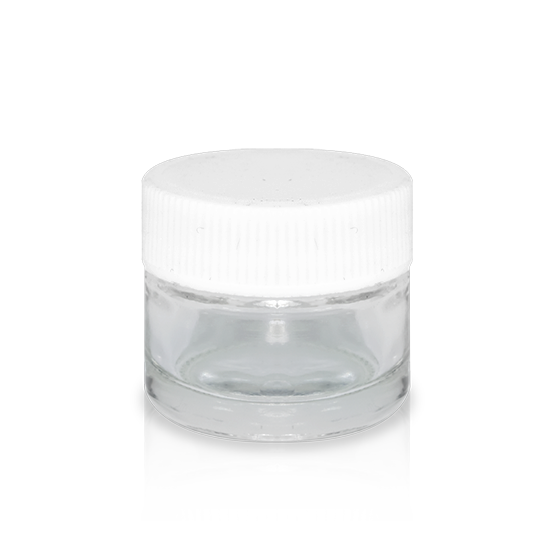 5ml Glass Concentrate Containers Extract Jars