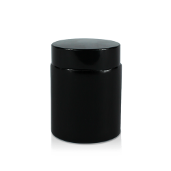 4oz black glass jars with lids black, 4oz black glass jars
