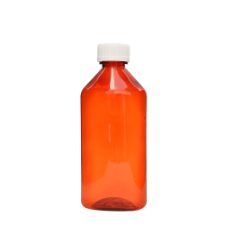 FLUID OVAL BOTTLES, 8OZ.
