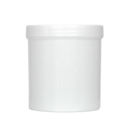 16oz White Wide Mouth Jars