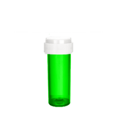 8dr Reversible Cap Vials Translucent Green