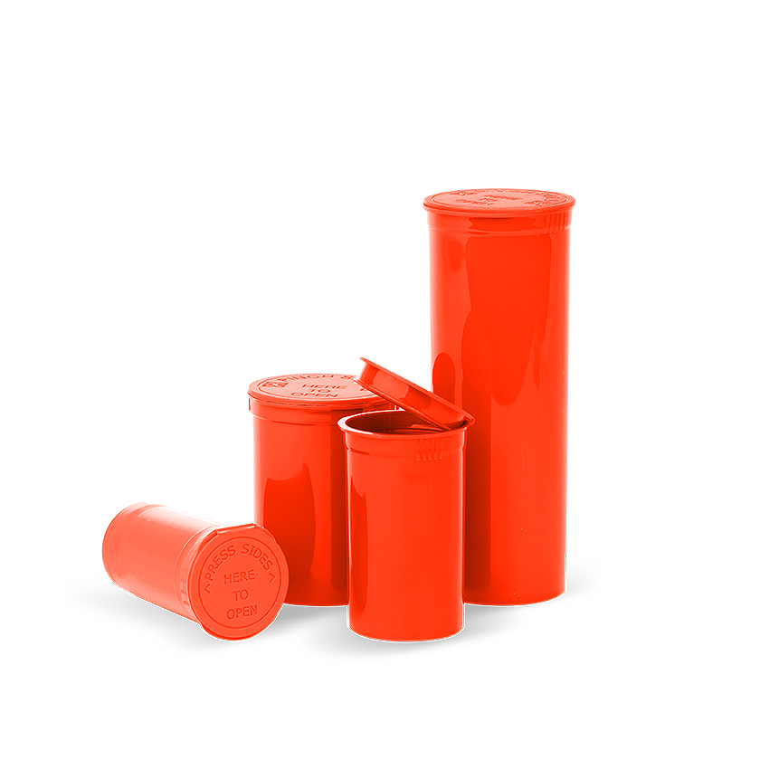 opaque red pop top bottles, Pop top bottles wholesale, pop top vials wholesale, pop top labeling, pop top containers, pop top bottles, pop top vials, 13 dram pop top, 19 dram pop top, 30 dram pop top, 60 dram pop top, 90 dram pop top, 6 dram pop top, 5 dram pop top, pop top cr bottles, pop top, pop top bottles wholesale, kush pops, xit pop tops, xit brands containers, xit brand pop tops, xit packaging, marijuana packaging, containers that hold cannabis, XIT Brand Pop Top Containers from Cannabis Packaging.com . Marijuana & cannabis available in white, black, green, gold, pink, silver, red, purple, gray, purple, orange, yellow, clear and blue. Pop Top Bottles that are CPSC Certified and meet ASTM Standards. Child Resistant, Child Proof, medical grade, kush bottles, opaque, translucent, blocks UV Rays, medical grade plastic, BPA free, FDA-approved materials, air tight, 100% Recyclable, marijuana packaging, 420 packaging, cannabis containers, child resistant packaging, wholesale packaging, dispensary packaging, smell proof packaging.