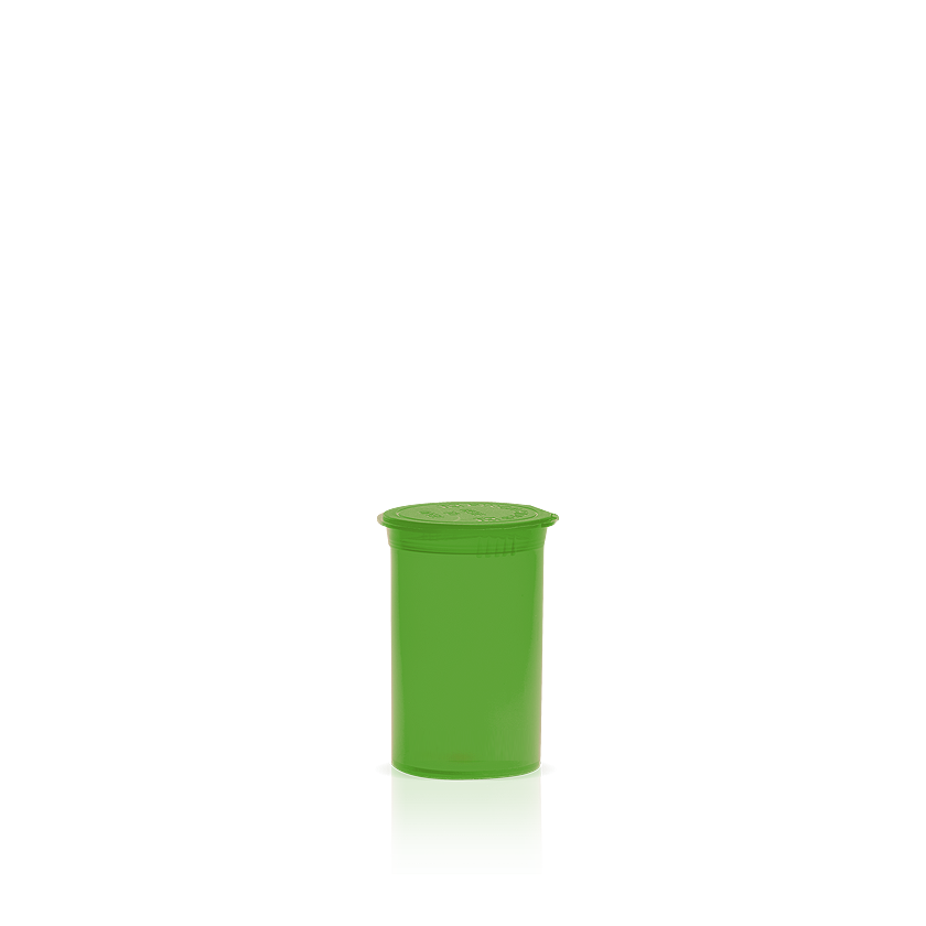 a4d69d2f87bf Opaque Green 5 Dram Pop Top Containers | 600ct