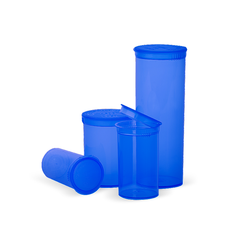 13 dram pop top, translucent blue, translucent blue, translucent blue pop top containers, pop top, Pop top bottles wholesale, pop top vials wholesale, pop top labeling, pop top containers, pop top bottles, pop top vials, 13 dram pop top, 19 dram pop top, 30 dram pop top, 60 dram pop top, 90 dram pop top, 6 dram pop top, 5 dram pop top, pop top cr bottles, pop top, pop top bottles wholesale, kush pops, xit pop tops, xit brands containers, xit brand pop tops, xit packaging, marijuana packaging, containers that hold cannabis, XIT Brand Pop Top Containers from Cannabis Packaging.com . Marijuana & cannabis available in white, black, green, gold, pink, silver, red, purple, gray, purple, orange, yellow, clear and blue. Pop Top Bottles that are CPSC Certified and meet ASTM Standards. Child Resistant, Child Proof, medical grade, kush bottles, opaque, translucent, blocks UV Rays, medical grade plastic, BPA free, FDA-approved materials, air tight, 100% Recyclable, marijuana packaging, 420 packaging, cannabis containers, child resistant packaging, wholesale packaging, dispensary packaging, smell proof packaging.